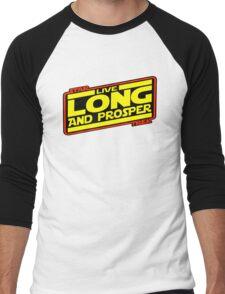 Live Long & Prosper Strikes Back Men's Baseball ¾ T-Shirt