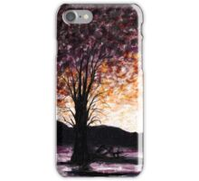 Washoe Meadows State Park Sunset iPhone Case/Skin