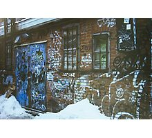 Montreal Graffiti Photographic Print