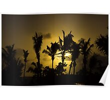 Sunset in Tropics Poster