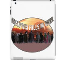 Gallifrey Falls No More (Alt) iPad Case/Skin