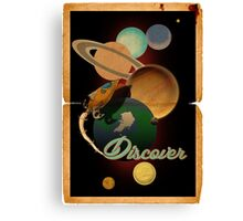 Discover Canvas Print