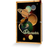 Discover Greeting Card