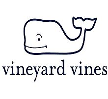 Vineyard Vines Whale  Photographic Print