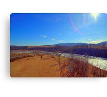 birdseye view Canvas Print