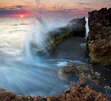 Eruption at Dawn by DawsonImages