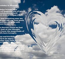 Happy Birthday in Heaven  by Nicole  Markmann Nelson