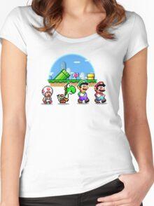 Mushroom Road Women's Fitted Scoop T-Shirt