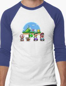 Mushroom Road Men's Baseball ¾ T-Shirt