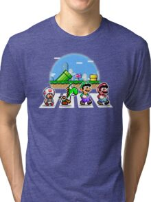 Mushroom Road Tri-blend T-Shirt