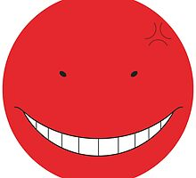 Korosensei Angry Round Face by Raieruu