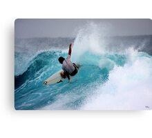 Saturday Surf... Canvas Print