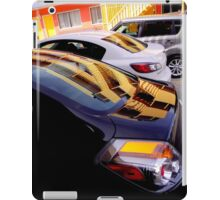 Yellow Pickets Going Up iPad Case/Skin