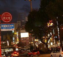 Hakata At Night, Japan 1 by tmac