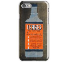 Cures What Ails You iPhone Case/Skin