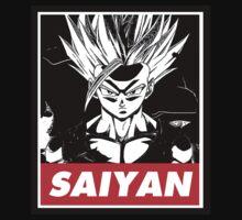 Son Gohan Saiyan obey style by Dandyguy