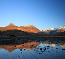 Bidean and the Pap of Glencoe by beavo