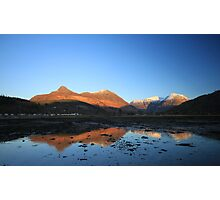 Bidean and the Pap of Glencoe Photographic Print