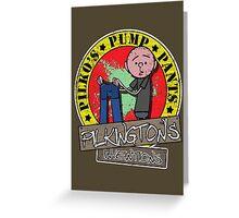 Karl Pilkington - Pilko Pump Pants Greeting Card