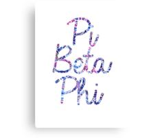 Pi Beta Phi Canvas Print