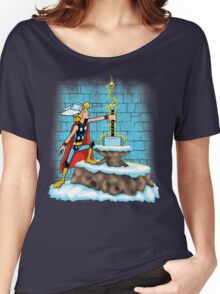 King Ar-THOR Women's Relaxed Fit T-Shirt