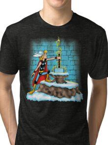 King Ar-THOR Tri-blend T-Shirt