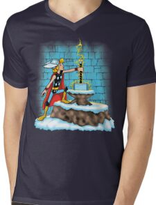 King Ar-THOR Mens V-Neck T-Shirt