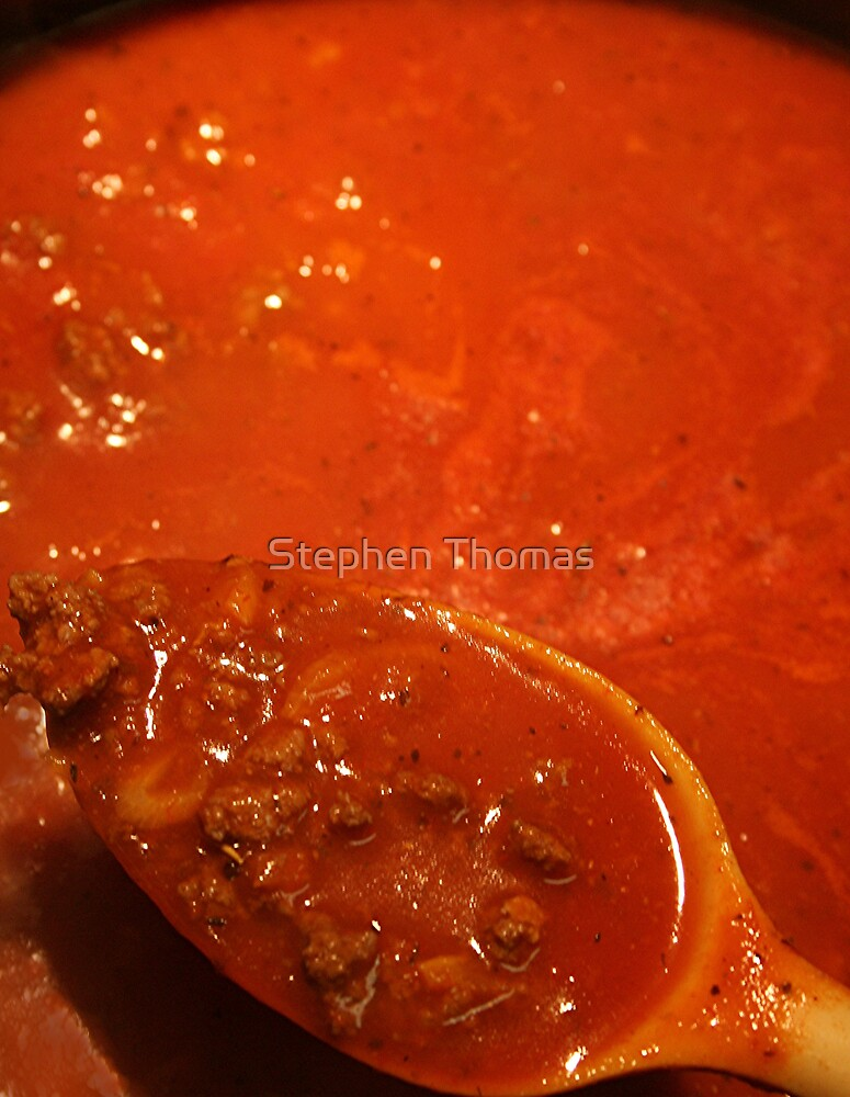 Spaghetti Meat Sauce by Stephen Thomas