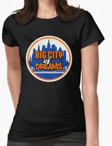 Big City of Dreams Womens Fitted T-Shirt