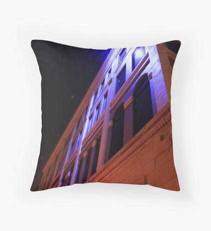 Down Town Lights Throw Pillow