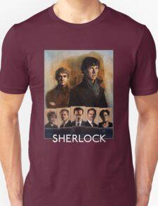 Sherlock Cast Portraits T-Shirt