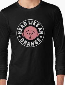 Karl Pilkington - Head Like An Orange Long Sleeve T-Shirt