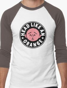 Karl Pilkington - Head Like An Orange Men's Baseball ¾ T-Shirt
