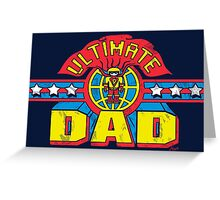 Ultimate Dad Superhero Father's Day Man Greeting Card