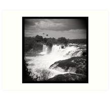 Cachoeira da Velha - Brazil Art Print
