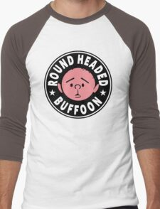 Karl Pilkington - Round Headed Buffoon Men's Baseball ¾ T-Shirt