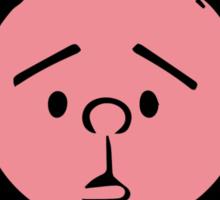 Karl Pilkington - Round Headed Buffoon Sticker