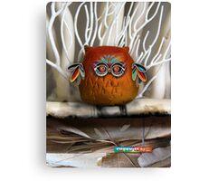 CHUNKIE Owl Canvas Print