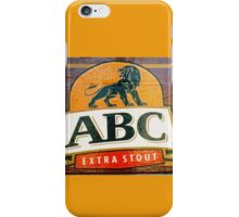 ABC Stout  iPhone Case/Skin