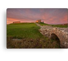 Duffus Castle Bridge Canvas Print