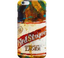 Red Stripe Jamaican Style Lager iPhone Case/Skin