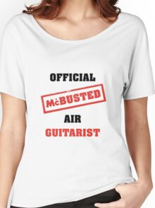 Official McBusted Air Guitarist Women's Relaxed Fit T-Shirt