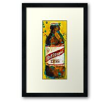 Red Stripe Jamaican Style Lager Framed Print