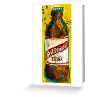 Red Stripe Jamaican Style Lager Greeting Card