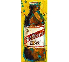 Red Stripe Jamaican Style Lager Photographic Print
