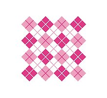 Pink Argyle Design by Lisann