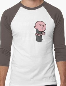 Karl Pilkington - You Wont Get Anything Done By Planning Men's Baseball ¾ T-Shirt