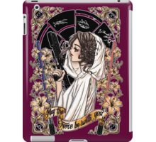 The force of the Princess Leia iPad Case/Skin