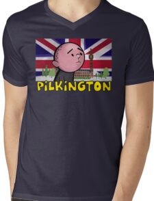 Karl Pilkington - Britains Finest Mens V-Neck T-Shirt