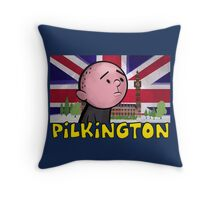 Karl Pilkington - Britains Finest Throw Pillow
